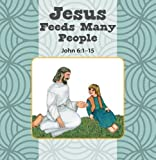 img - for Jesus Feeds Many People / Mary Listens to Jesus Flip Book book / textbook / text book