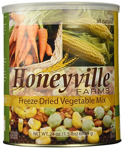 Freeze Dried Vegetable Mix - 1.5 Pound Can (Honeyville Freeze Dried Products compare prices)