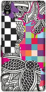 The Racoon Grip printed designer hard back mobile phone case cover for Sony Xperia Z5. (Ordinary L)