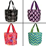 4 Sachi Insulated Lunch Tote Bags Packable + Gift Boxes