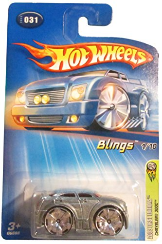 Hot Wheels 2005 First Edition 031 CHRYSLER 300C BLINGS 1/10 1:64 Scale Die-cast Collectible Car - 1