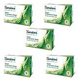 5 pack X Himalaya Neem & Turmeric Soap 75g - -