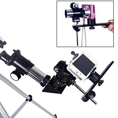 Neewer® Universal Aluminium Alloy Deluxe Camera Telescope Mount Black