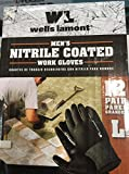 Wells Lamont Nitrile Coated Work Gloves 12 Pairs Large