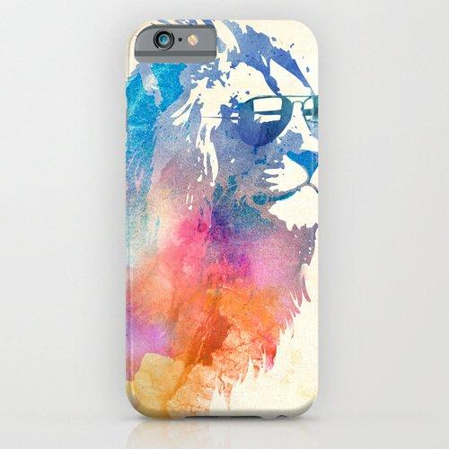 iPhone6ケース[4.7インチ] society6(ソサエシティシックス) Sunny Leoライオン   デザイナーズiPhoneケース 正規輸入品