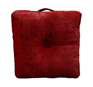 Oversized Plush Floor Pillows : Amazon.com - Elements Hamilton Oversized Floor Cushion, Brick - Throw Pillows