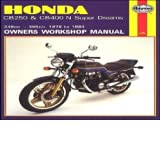 Honda cb250 and cb400n superdreams owner's workshop manual