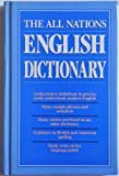 img - for THE ALL NATIONS ENGLISH DICTIONARY book / textbook / text book