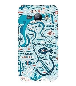 EPICCASE blue ocean Mobile Back Case Cover For Samsung J1 Ace (Designer Case)