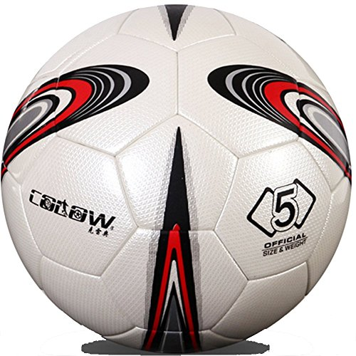 Bovillo Standard #5 Game Waterproof Soccer Ball training Football Spring Well Wear-Resistin (Tie Dye Whistle compare prices)