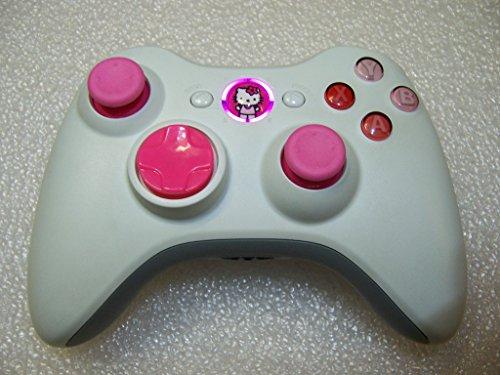 Custom Xbox 360 Wireless Controller - Hello Kitty Theme