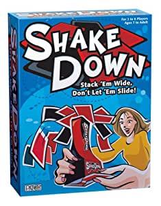 Shake Down , Stack'em Wide, Don't Let'em Slide! Stacking Game!