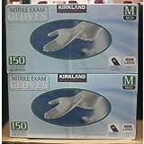 KIRKLAND カークランド KS Nitrile Gloves 二トリル手袋 Mサイズ 150枚 2箱セット