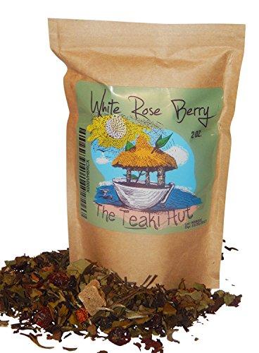 White Rose Berry: Invigorating Acai Tea from TEAKI Hut, Three-Time Award Winners for Organic Loose Leaf White Tea((2