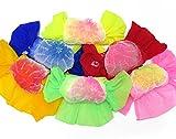 選べる6色 浴衣 子供用兵児帯-ピンク 赤 青 山吹 黄緑 紺 黄色-