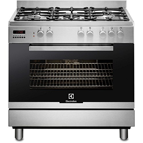 Electrolux EKK965AAOX 90cm Stainless Steel Single Oven Dual Fuel Range Cooker With Catalytic Cleaning