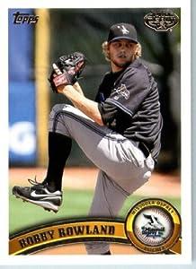 2011 Topps Pro Debut Baseball Card # 251 Robby Rowland - Missoula Osprey - MiLB... by Topps