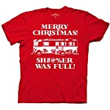 National Lampoon's Christmas Vacation Shitter Was Full Mens T-Shirt