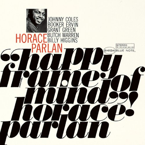 horace parlan - happy frame of mind (sleeve art)