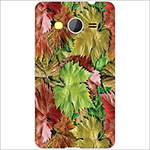 Samsung Galaxy Core 2 Back Cover - Leaves Designer Cases