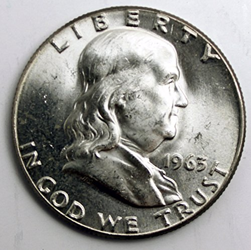 1963 Franklin Half Dollar Seller Brilliant Uncirculated