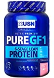 USN Pure Protein GF1 Growth and Repair Protein Shake, Strawberry - 1000 g