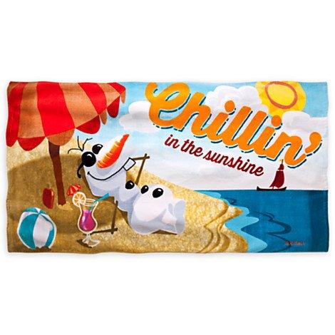 Disney Frozen Olaf Beach Swim Towel