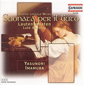 "Weiss, S.L.: Lute Sonatas Nos. 39, ""Partita Grande"" and 45 / Prelude and Fugue in D Minor"