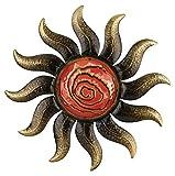 Regal Art and Gift Bronze Sun Wall Decor, 22-Inch