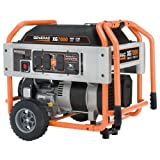 Generac 8,750 Watt 410cc OHV Gas Powered Portable Generator With Wheel Kit 5797 XG7000