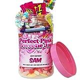 Perfect Pink Retro Sweet Jar Medium