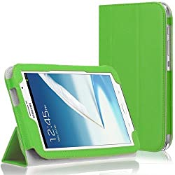 Duzign Triad Case Cover Stand (Green) for Samsung Galaxy Note 8 (Built-in magnet for sleep / wake feature)