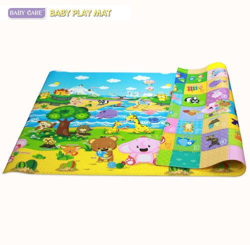 baby care play mat child toddler pingko friends large new free shipping ebay. Black Bedroom Furniture Sets. Home Design Ideas
