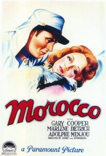 モロッコ - 映画ポスター - 11 x 17