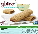 Glutino Gluten Free Breakfast Bars, Apple, 5-Count Boxes (Pack of 6)