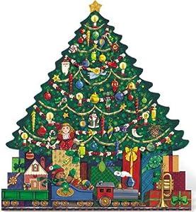 #!Cheap Byers Choice Christmas Tree Advent Calendar