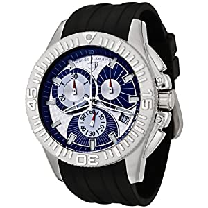 Mens 50064-03 Evolution Collection Chronograph Rubber Strap Watch
