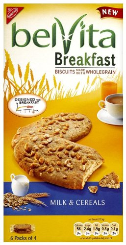 Belvita Breakfast Biscuit Milk and Cereal 300 g (Pack of 10)