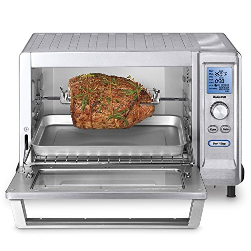 Cuisinart TOB-200 Rotisserie Convection Toaster Oven, Stainless Steel (Small Convection Toaster Oven compare prices)