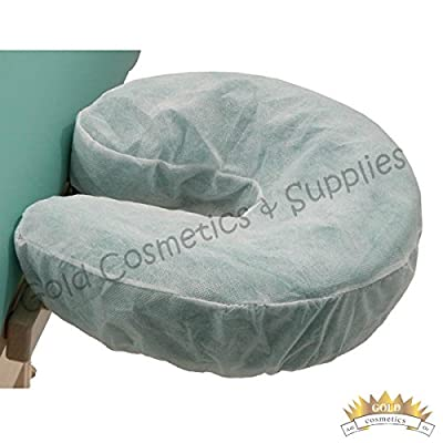 300 Ct. Disposable Fitted Massage Table Chair Face Rest Cradle Cover Head Bed Spa