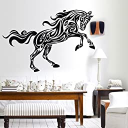 ColorfulHall 60*100cm Anima Zoo Steed Horse wall decal wall sticker horse mural art vinyl