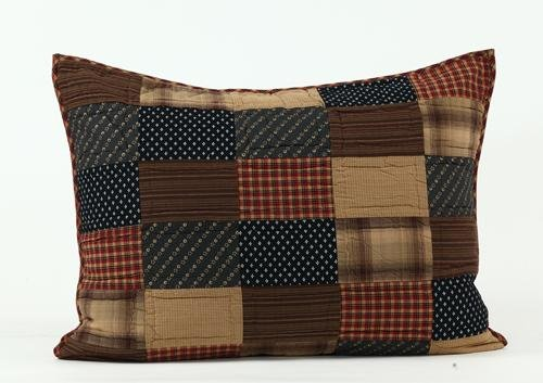 """Patriotic Patch 21""""X27"""" Quilted Sham front-884869"""