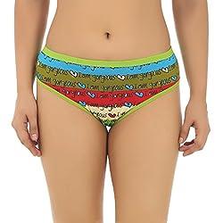 Gujarish Comfy Multicolour Cotton Printed Panties