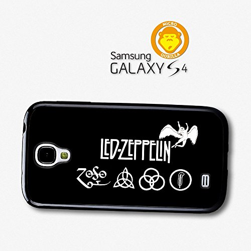 Led Zeppelin Zoso Logo Black And White Case For Samsung Galaxy S4 A6146