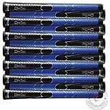 Set of 9 BRAND NEW Winn DriTac Midsize AVS Black Blue Golf Grip - Dri-Tac!