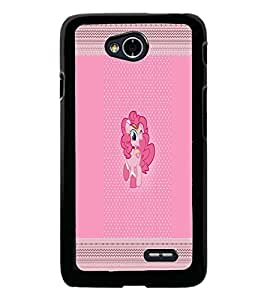 PrintDhaba Cartoon D-3556 Back Case Cover for LG L70 (Multi-Coloured)