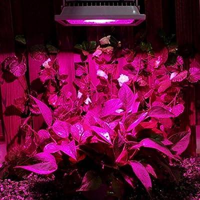 Oyedens 18W LED Waterproof Grow Light Hydroponic Plant Veg Flower Full Spectrum Hydro Panel Lamp