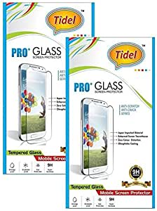 Tidel 2.5D Curved Tempered Glass Screen Guard Protector For Micromax Canvas Juice 3 Q392 (pack of two)