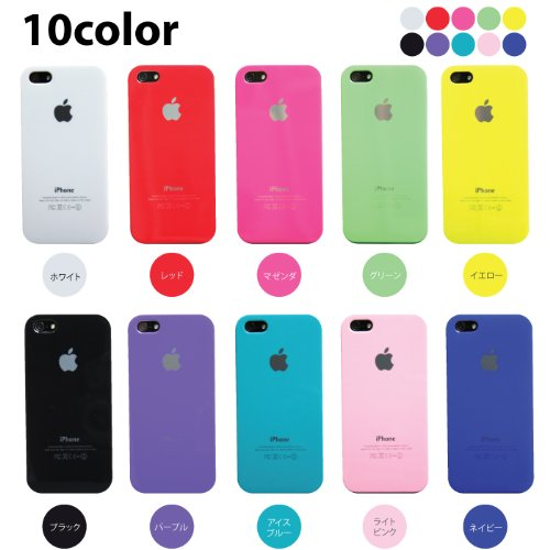 【 iPhone5 ケース 】METALICO メタリコ【全10色】カラー:ブラック