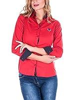 SIR RAYMOND TAILOR Camisa Mujer (Rojo)